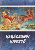 Karácsonyi kifestő - Antikvár