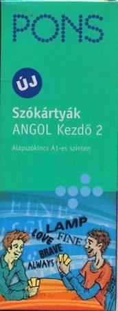 PONS SZÓKÁRTYÁK - ANGOL KEZDŐ 2