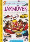 Földön, vízen, levegőben - Járművek - Játékos ismerkedés a járművek világával