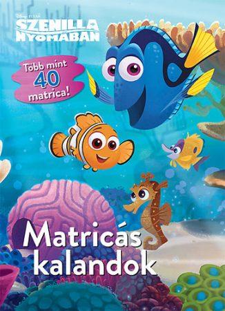 Szenilla nyomában - Disney  - Matricás kalandok
