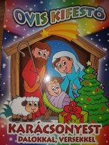 Karácsonyest dalokkal, versekkel - Ovis kifestő