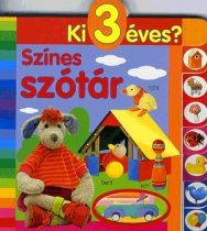 Színes szótár - Ki 3 éves?