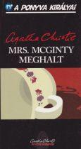 Agatha Christie - Mrs. McGinty meghalt (régi borító)