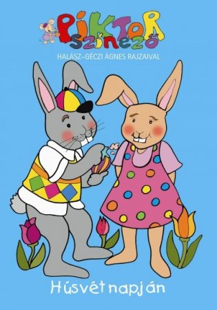 Húsvét napján - Piktor színező