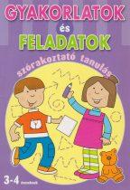 Emanuela Carletti - Gyakorlatok és feladatok - szórakoztató tanulás 3-4 éveseknek