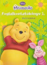 Micimackó Foglalkoztatókönyv 1. - Matricákkal - Jó állapotú antikvár