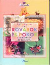 Első könyvem - Rovarok és pókok - Micimackóval és barátaival - antikvár