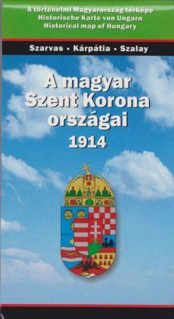A magyar Szent Korona országai 1914