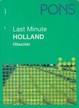 Pons Last minute - Holland - Útiszótár - Antikvár
