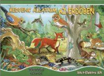 Kedvenc állataim az erdőben - Térhatású könyv - Jó állapotú antikvár
