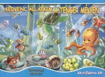 Kedvenc állataim a tenger mélyén - Térhatású könyv - Jó állapotú antikvár