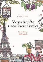Napsütötte Franciaország - Színezőkönyv felnőtteknek